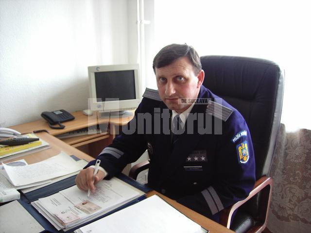 Ultimul pe lista pensionaţilor este comisarul şef Romeo Butnariu