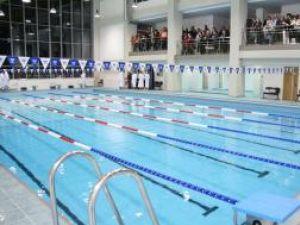 """Complexul de nataţie şi kinetoterapie de la Universitatea """"Ştefan cel Mare"""" a fost inaugurat ieri"""