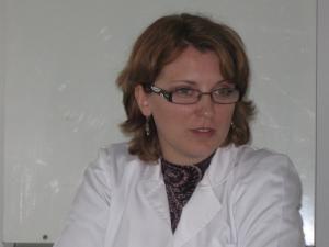 Directorul adjunct al Direcţiei de Sănătate Publică (DSP), dr. Marinela Grădinaru