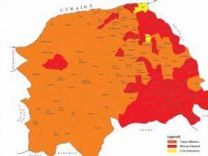 Scoruri finale: Voturile pentru principalii candidaţi, pe localităţi