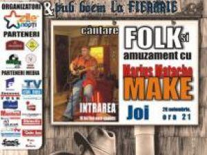 """Recital de muzică folk, la pub-ul """"La Fierărie"""""""