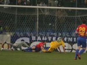 Meciul dintre Steaua şi FC Vaslui a fost destul de modest