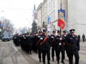 Defilare de Ziua Naţională a României în municipiul Suceava
