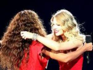 Cântăreţele americane Beyonce şi Taylor Swift