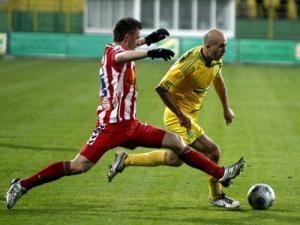 FC Vaslui - Oţelul Galaţi, scor 1-1. Foto: Liviu Adăscăliţei/Mediafax Foto