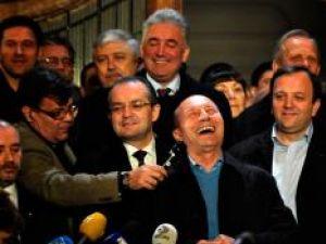 Traian Băsescu: Trebuie să mai muncesc cinci ani. Foto: MEDIAFAX