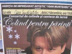 """Concert: """"Colind pentru părinţi"""" cu Fuego, la Suceava"""