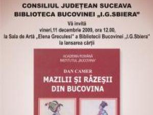 """Lansare de carte: """"Mazilii şi răzeşii din Bucovina"""""""