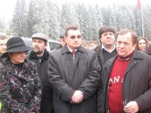 Gheorghe Flutur, prezent la recepţionarea tronsonul din Drumul Naţional 17 dintre Sadova şi Iacobeni