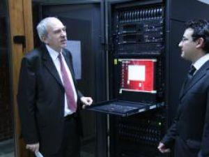 """""""Supercalculatorul"""" de la universitate a fost achiziţionat cu două milioane de lei de la IBM"""