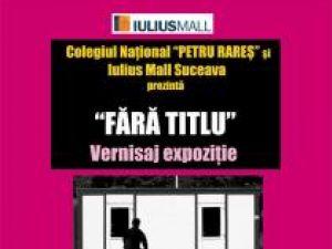 """Vernisaj: Expoziţie """"Fără titlu"""" la Iulius Mall Suceava"""