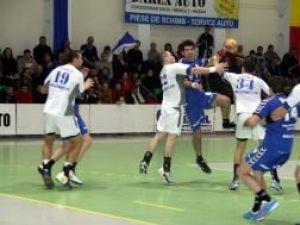În ultima etapă a turului Ligii Naţionale de Handbal, Universitatea Suceava a pierdut pe teren propriu în faţa Reşiţei