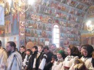 Sărbătoare la Mănăstirea Voroneţ
