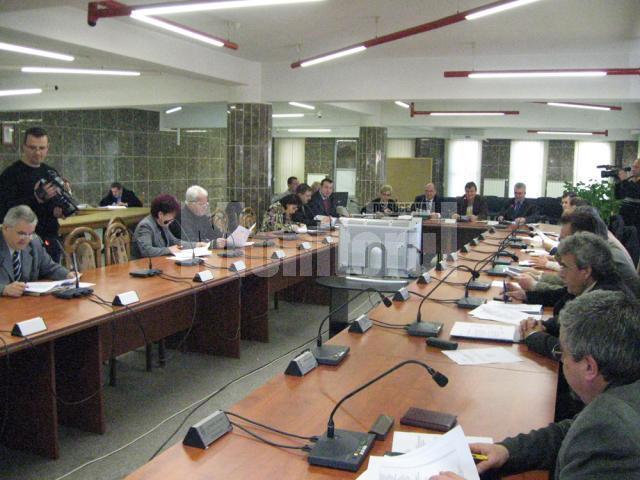 Şedinţă extraordinară a Consiliului Local Suceava