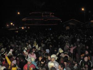 În fiecare seară, peste 5.000 de oameni pe pârtia Parc