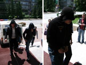 Lucas, Mârlanu şi Andruşcă, aduşi la arestare