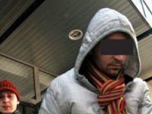 Vlad P. a fost arestat pentru ca a spart mai multe magazine din centrul Sucevei