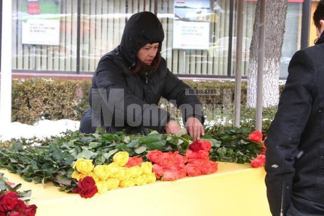 Sărbătoare: Ziua Femeii a crescut preţul la flori