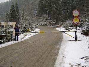 Accesul în perimetrul minier Crucea este interzis pentru persoanele neautorizate