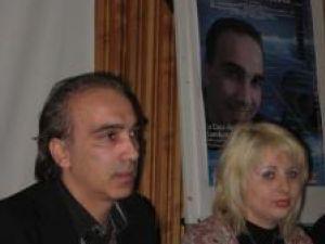 Franco Midiri, alături de Brânduşa Bialy