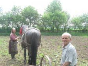 Ştefan Moroşan, alături de soţia sa, Maria