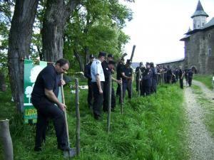 30 de pompieri din cadrul Detaşamentului Suceava au participat la acţiunea de sâmbătă