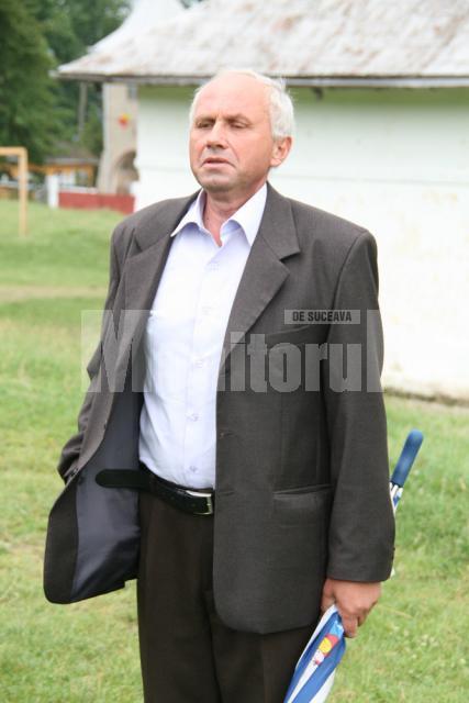 Mihai Crăciun, profesor coordonator la şcoala din Valea Glodului