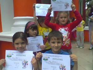 Preşcolari suceveni premiaţi în tabăra La Porţile Deltei