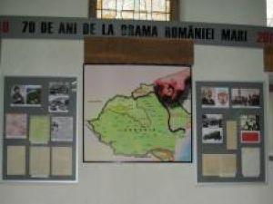 """La Muzeul de Istorie: Expoziţia """"70 de ani de la drama României Mari"""""""