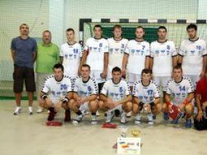 Echipa de handbal a Universităţii a câştigat trofeul la ediţia de anul trecut a Memorialului Mihai Mironiuc