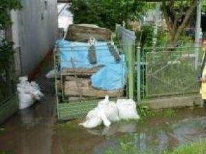 Precipitaţiile deosebit de abundente din cursul zilei de luni au afectat şi municipiul Rădăuţi