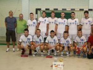 Echipa de handbal a Universităţii Suceava a mai primit în această săptămână suma de 100.000 de lei din partea Primăriei Suceava