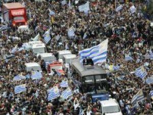 Locul patru la Mondiale este considerat o mare performanţă în Uruguay