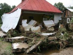Valoarea pagubelor produse de inundaţii în România este de ordinul sutelor de milioane de euro