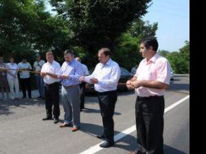 Recepţia finală a lucrărilor de modernizare a drumului judeţean Salcea-Vereşti-Roşcani