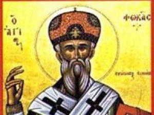 Sărbătorit astăzi: Sfântul Foca, patron al arşiţei şi al incendiilor provocate de fulgere