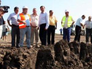 Flutur a inspectat lucrările la groapa de gunoi ecologică de la Moara