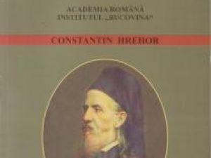 "Pagina de carte: Constantin Hrehor: ""Silvestru Morariu Andrievici"""