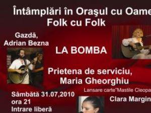 Concert folk şi lansare de carte, la Gura Humorului
