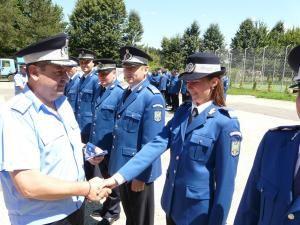 Noile grade au fost înmânate de conducerea Inspectoratului Judeţean de Jandarmi