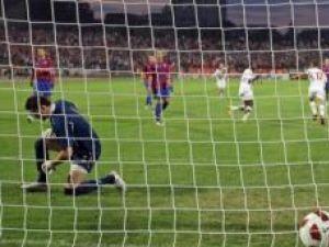 Dinamo a deschis scorul încă din primele minute ale jocului
