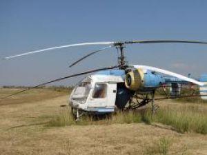 Tratamentul aviochimic se face cu un astfel de elicopter