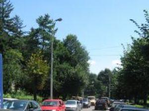 Strada Mitropoliei, una din porţile de intrare în municipiul Suceava