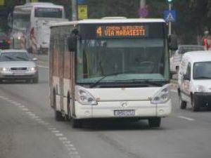 Autobuzele de pe linia 4 vor circula de astăzi pe traseul lor normal