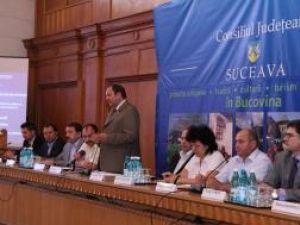 Gheorghe Flutur a prezentat oportunităţile de afaceri din judeţul Sucaeva