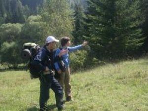 Cei doi turişti au spus că nu cunoşteau terenul şi au ajuns, fără intenţie, în România