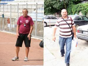 Ion Buzoianu (stânga) şi Ovidiu Murariu, mulţumiţi că au o săptămână de pregătire în plus