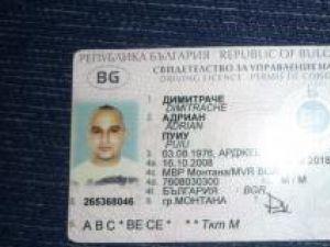 Permis bulgăresc falsificat, descoperit în urma percheziţiei la locuinţa lui Chideşa