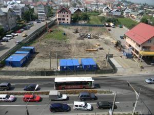 Construcţia supermarketul Lidl de la intrarea în cartierul Obcini a început deja