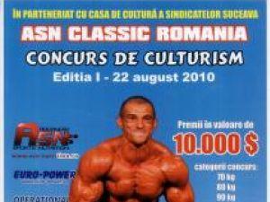 Premieră: Cei mai valoroşi culturişti din România se întrec la Suceava